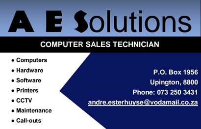 Postmasburg Computer sales and repairs | A E Solutions